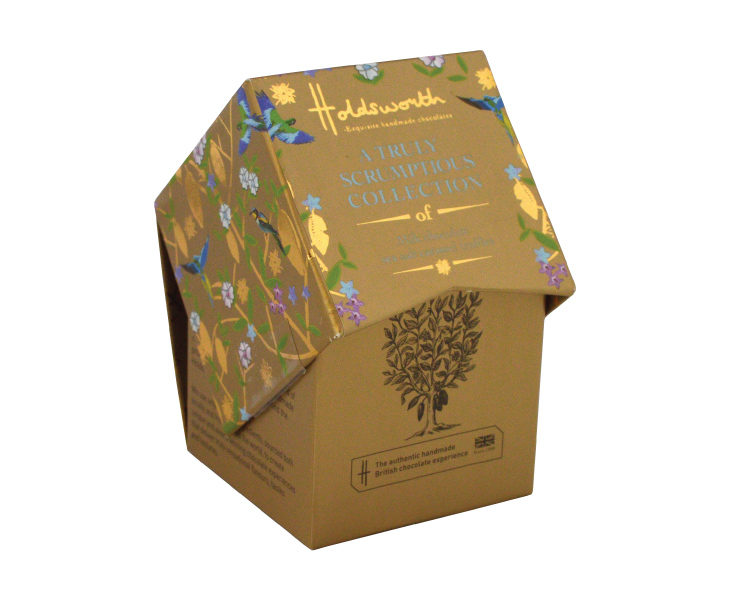 A Petite Box of Milk Chocolate Sea Salt Caramel Truffles 55g