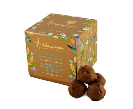 Handmade Holdsworth Chocolates Sea Salt Caramel Truffles