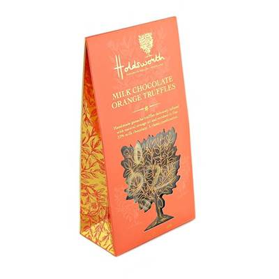Holdsworth Chocolates Milk Chocolate Orange Truffles