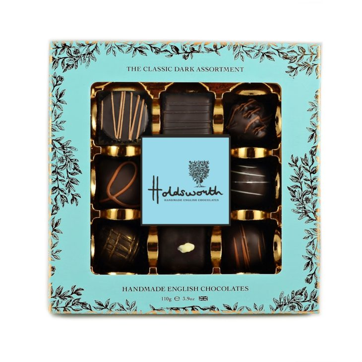 Holdsworth Chocolates Dark Chocolate Window Box