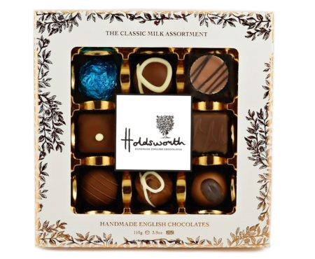 Holdsworth Chocolates Classic Milk Chocolate Window Box