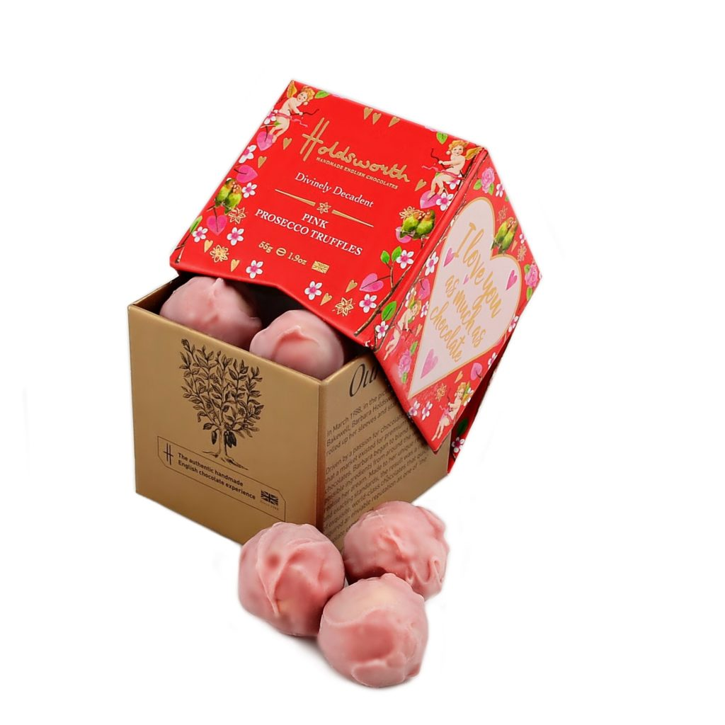 Holdsworth Chocolates Pink Prosecco