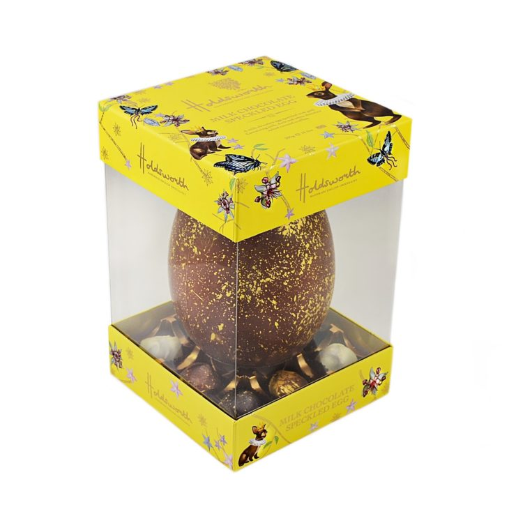 Holdsworth Chocolates Easter Egg side view