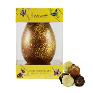 Milk Chocolate Speckled Easter Egg 300g