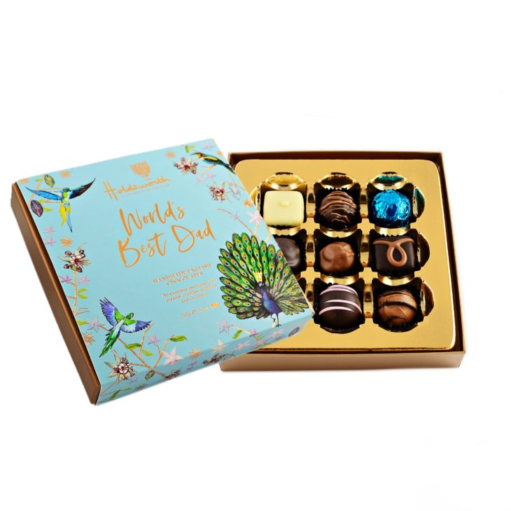 Worlds Best Dad Gift Box 110g